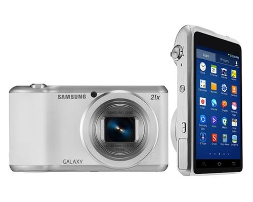 Galaxy Camera 2 ofrece una pantalla de 4,8 megapíxeles