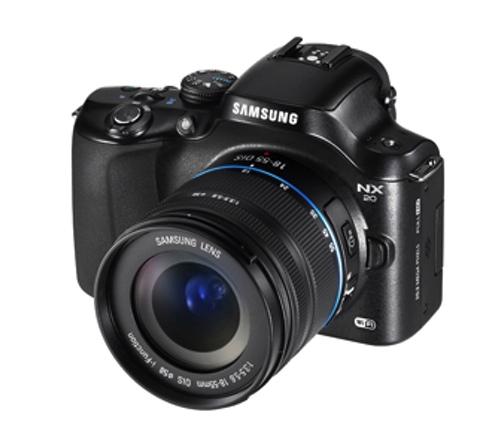 El modelo NX30 incorpora un Sensor de 20,3 megapíxeles