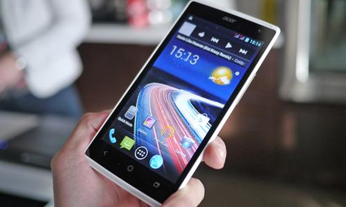 El smartphone Liquid Z5 estará disponible a partir de febrero.