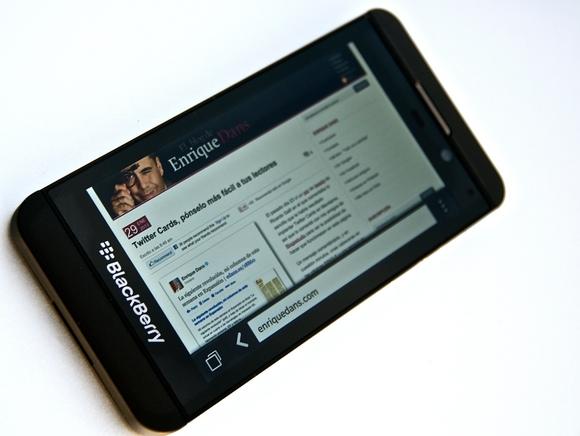 BlackBerry busca la salvación en sus nuevos dispositivos