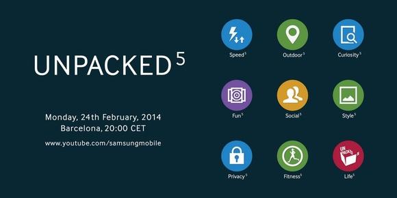 Imagen del evento publicada por Samsung en Twitter