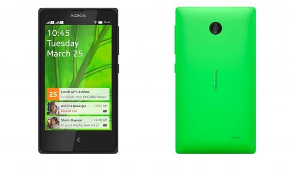 Los 2 smartphone de 4 pulgadas, Nokia X y Nokia X+