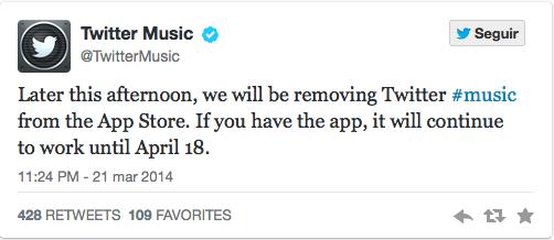Ya no se puede descargar la app