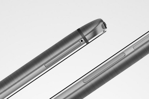 El acabado en metal es un diseño único