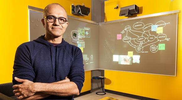 El CEO de Microsoft habla en su primera rueda de prensa