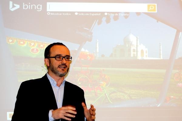 Carlos de la Puente, responsable de Aplicaciones y Servicios en Windows España.