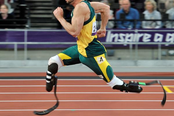 Oscar Pistorus en los Juegos Olímpicos de 2012