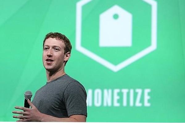 Zuckerberg en la conferencia F8