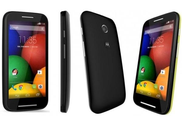 Moto E, smartphone básico y asequible