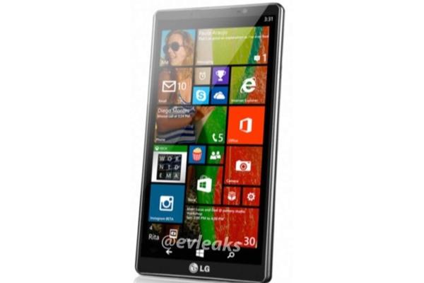 LG Uni 8 con Windows Phone 8.1