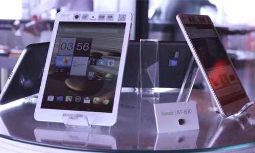 Las nuevas tablets Iconia también gozan de un diseño elegante