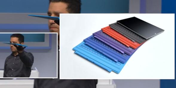 Las nuevas Type Cover de colores