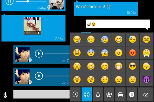 Los usuarios de Windows Phone pueden volver a darle al chat