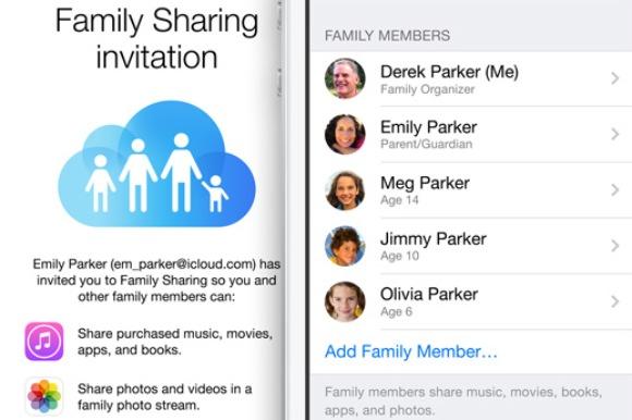 Compartir es más fácil en familia