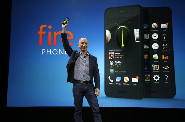 Amazon Fire Phone, el buque insignia de Bezos