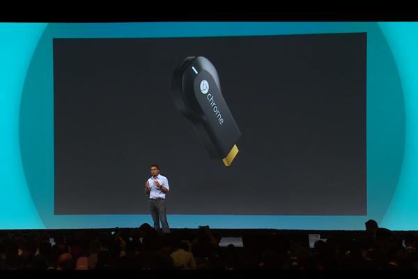 Presentación en directo de las novedades de Chromecast
