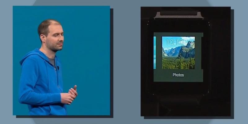 Yosemite en Android Wear