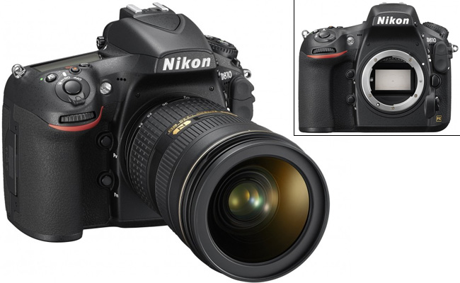 La nueva D810 de Nikon incorpora un sensor de 36,3MP