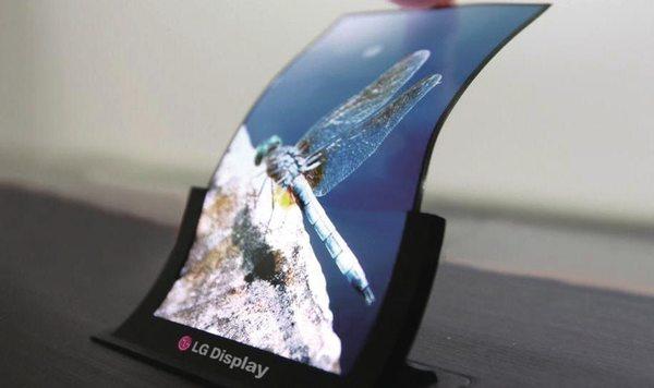 El futuro pasa por las pantallas flexibles