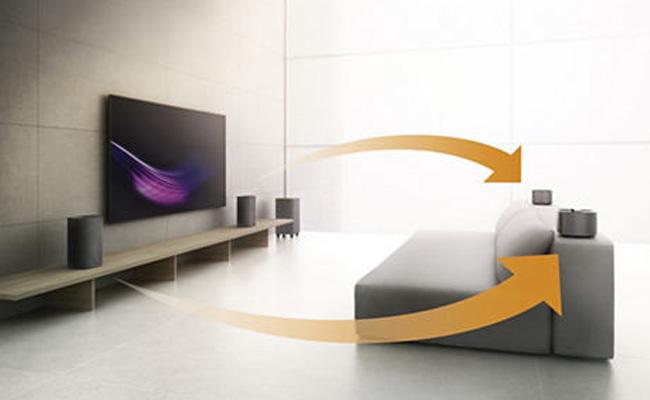 Fidelio E5, el Home Cinema sin cables
