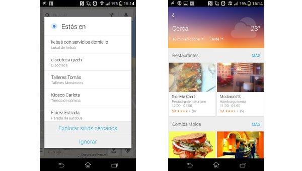 La nueva función Google Cerca de Maps