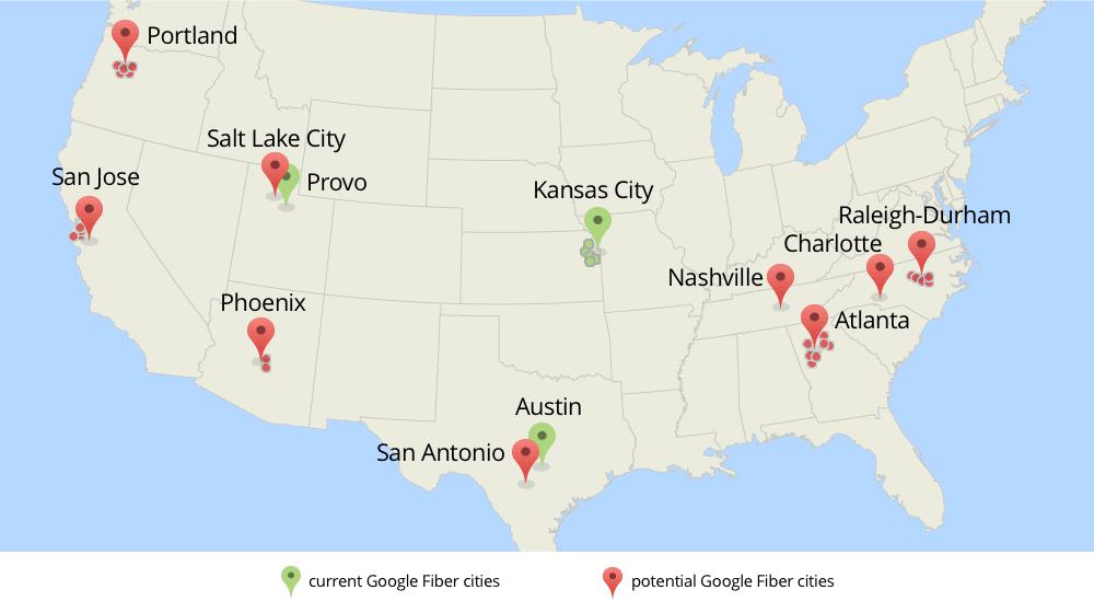 Los planes de Google Fiber