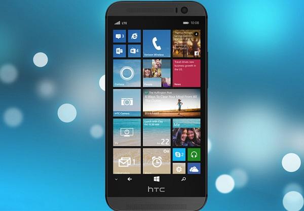El nuevo M8 con Windows Phone 8.1