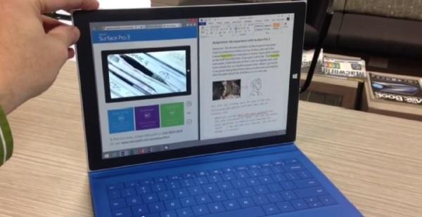 Surface Pro 3 de cartón