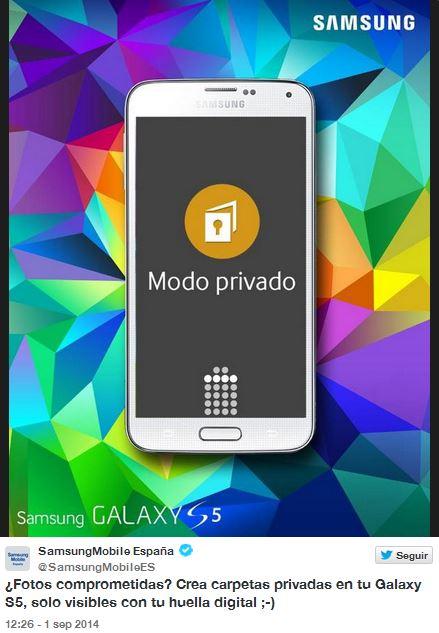 Samsung aprovecha la oportunidad