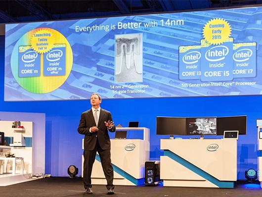 Presentación de los nuevos procesadores