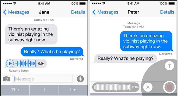 Nuevo sistema de mensajería de iOS8