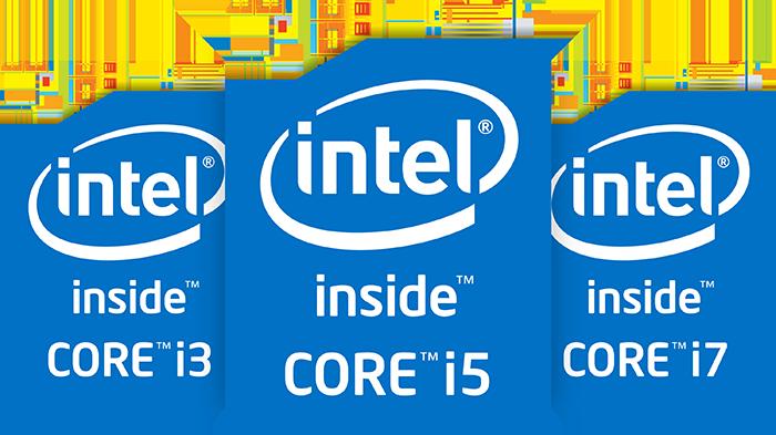 Los Core i5 e i7 están presentes en las gamas más altas