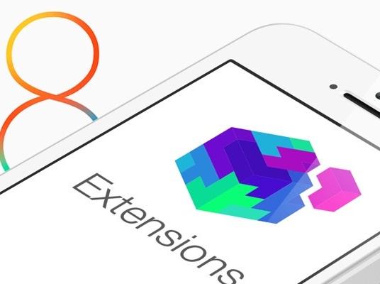 iOS 8 incorpora extensiones para potenciar su uso