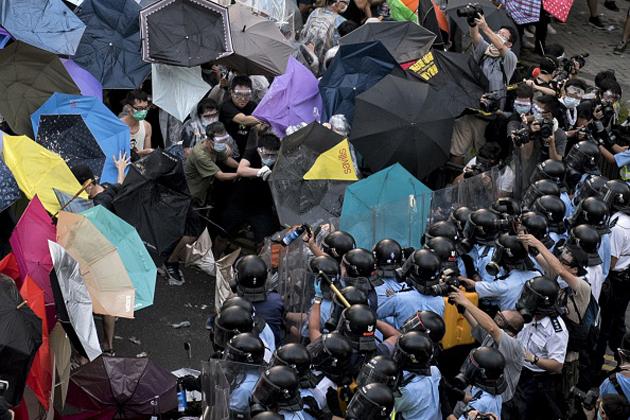 Revueltas en China a favor de la democracia