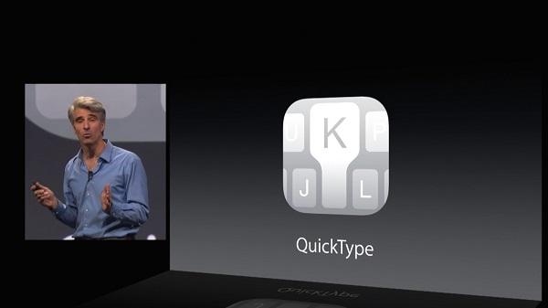 QuickType, peligro para la privacidad