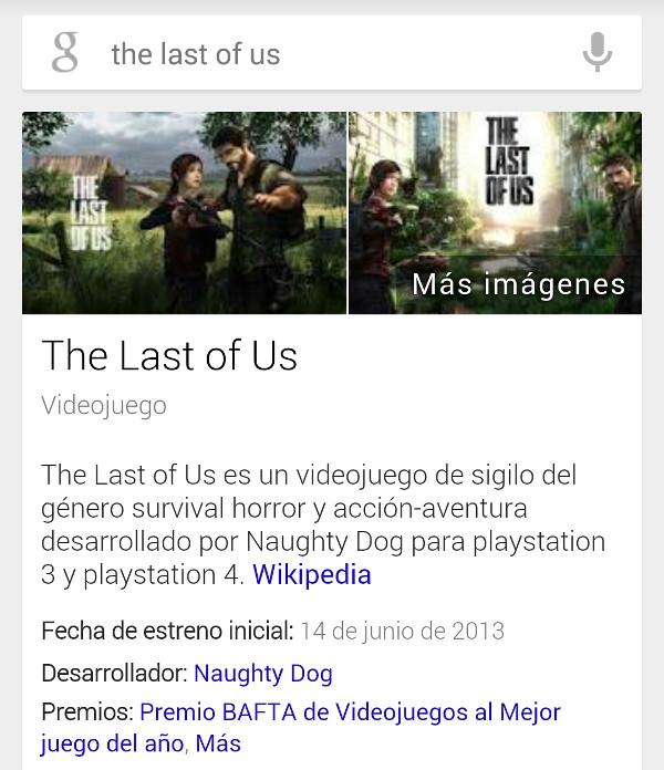 El resultado de 'The Last of Us'