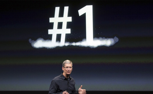 Apple se coloca en el Top 1 de China