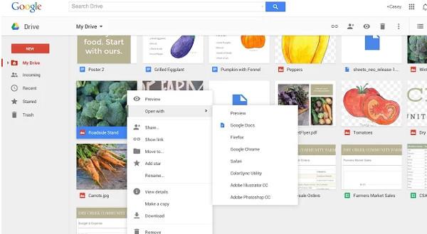 Abrir programas de Google Drive en Chrome