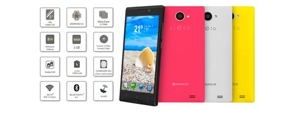 El Z-800 es la punta de lanza de la nueva serie de teléfonos