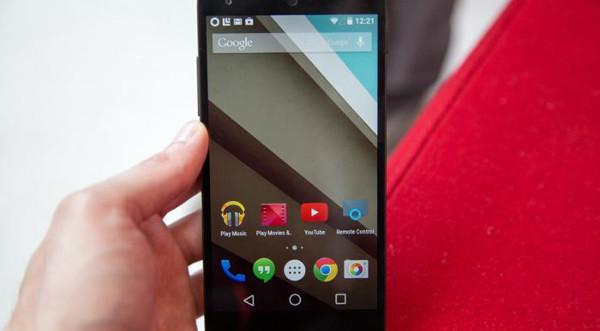 Android 5.0 llega a los Nexus