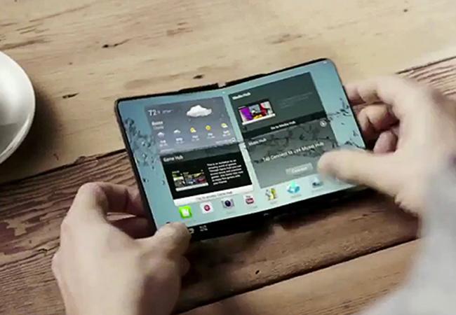 Los smartphones flexibles llevarán en 2016