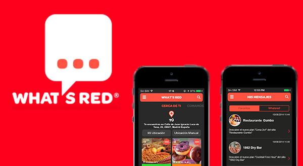 App de Ocio - Whatsred