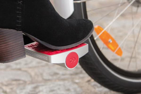 Pedal GPS, interesante a la par que discreto