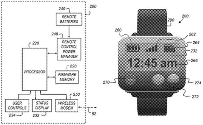 Una de las imágenes recogida en las patentes