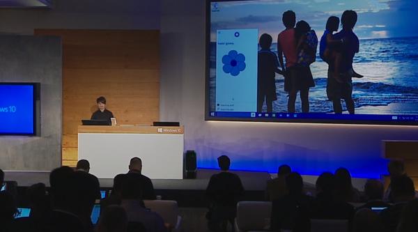 Veremos a Cortana en la barra de inicio