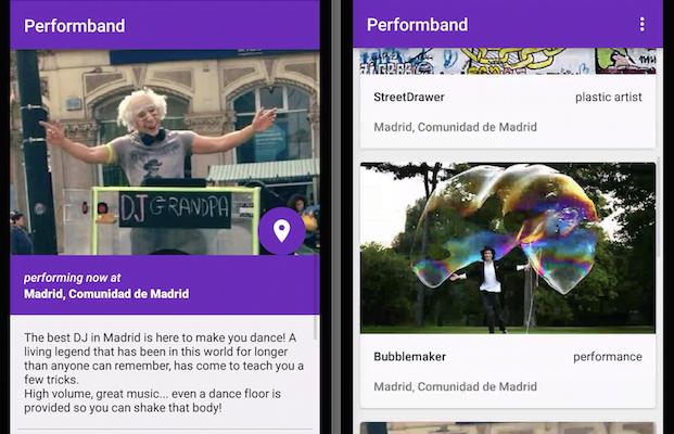 Performband, la app ganadora del hackaton