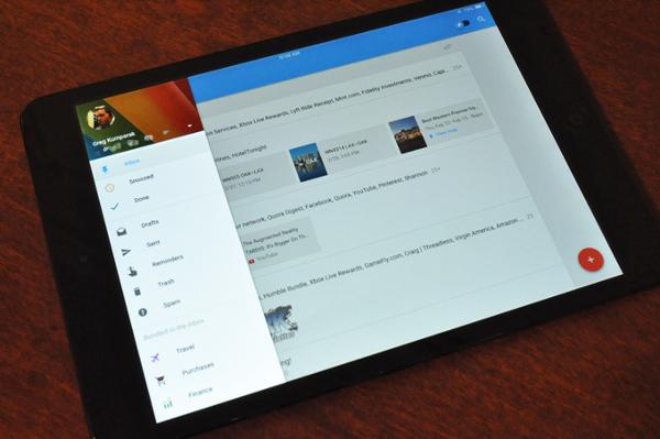 Inbox en iPad