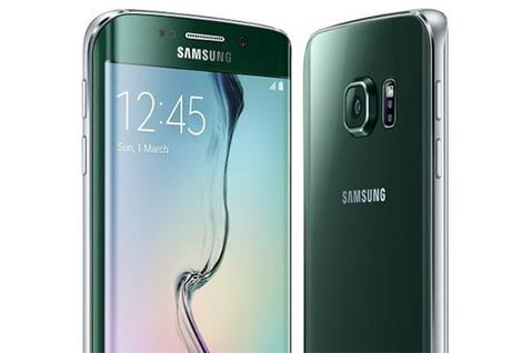El Galaxy S6 Edge en color Verde Esmeralda