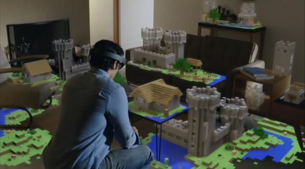 A jugar con HoloLens
