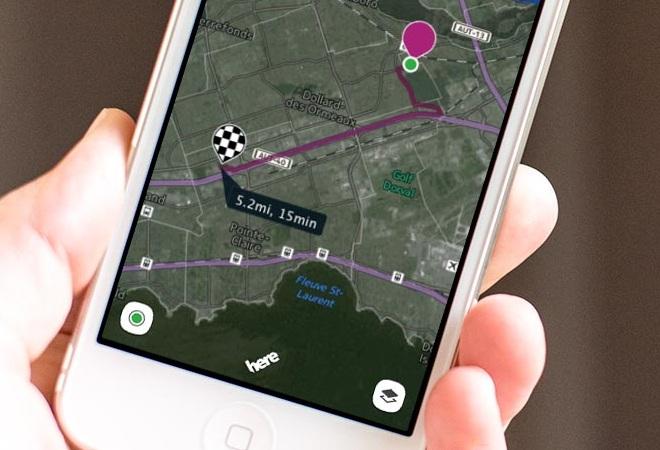 Así es Nokia HERE Maps
